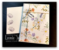 Delightful Daisy Notecards by Leonie Schroder Independent Stampin' Up Demonstrator Australia