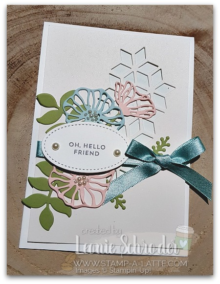 Oh So Subtle Eclectic Layers Card by Leonie Schroder Independent Stampin' Up! Demonstrator Sydney Australia