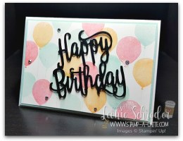 Birthday Celebration by Leonie Schroder Independent Stampin' Up! Demonstrator Australia
