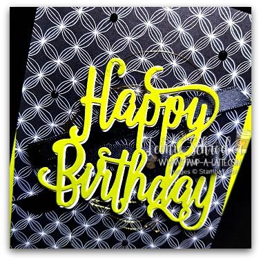 Happy Birthday with Twist by Leonie Schroder Independent Stampin' Up! Demonstrator Austrlalia