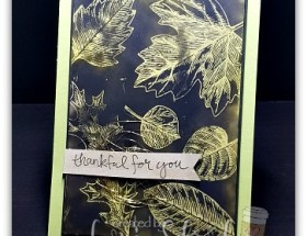 Sooty Vintage Leaves for the Guys by Leonie Schroder Independent Stampin Up Demonstrator Australia