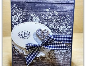 Painted Wood Words by Leonie Schroder Independent Stampin' Up! Demonstrator Australia