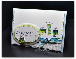 Happiest of Birthdays to You by Leonie Schroder Independent Stampin Up Demonstrator Australia