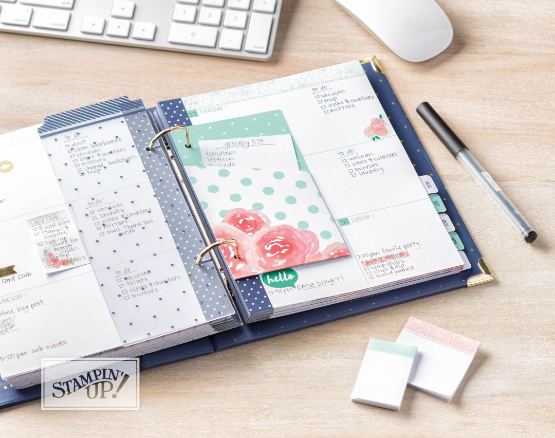 Love Today Planner - buy from Leonie Schroder Independent Stampin' Up! Demonstrator