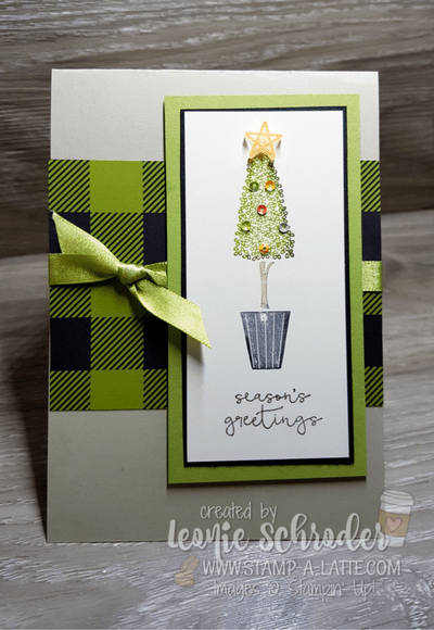 Topiary Christmas by Leonie Schroder Independent Stampin' Up! Demonstrator Australia