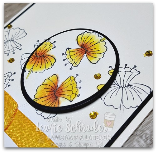 Spotlight Technique card by Leonie Schroder Independent Stampin' Up! Demonstrator Auastralia