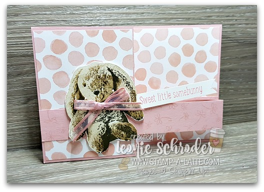 Sweet Little Something Double Z fold Card by Leonie Schroder Independent Stampin' Up! Demonstrator Australia