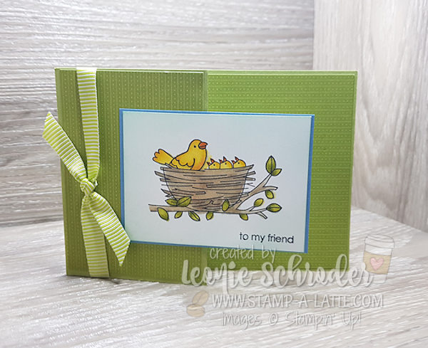 Z Fold Flying Home by Leonie Schroder Independent Stampin' Up! Demonstrator Australia