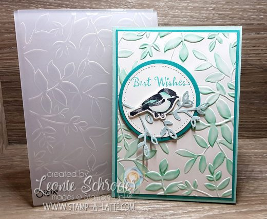 Dynamic Stampin Blends Background by Leonie Schroder Independent Stampin' Up! Demonstrator Australia