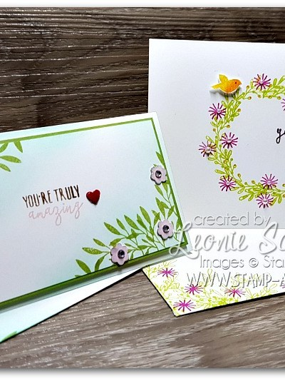 Yay You Hostess Set cards created by Leonie Schroder Independent Stampin' Up! Demonstrator Australia