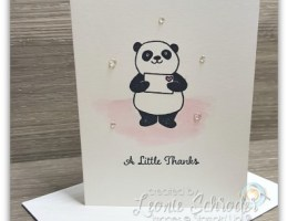 make a bundle of cards quickly and easily with the Party Pandas and the Stamparatus by Leonie Schroder Independent Stampin' Up! Demonstrator Australia