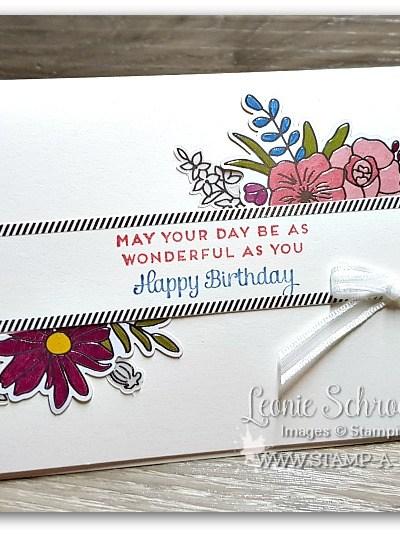 Sweet Soiree Brithday by Leonie Schroder Independent Stampin Up Demonstrator