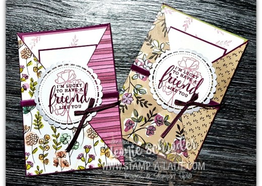 Share What You Love Pocket Card by Leonie Schroder Independent Stampin' Up! Demonstrator Australia