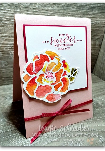 Floating Reinker Technique with Beautiful Day by Leonie Schroder Independent Stampin' Up! Demonstrator Australia