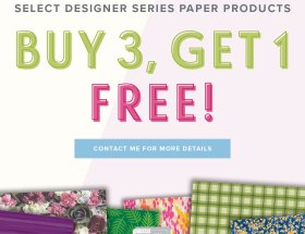 Buy 3 - Get 1 Free - July 2018