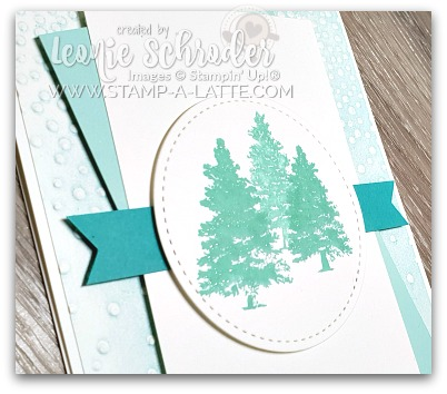 Inked Embossing Folder Technique by Leonie Schroder Independent Stampin' Up! Demonstrator Australia