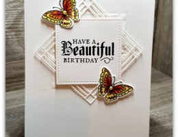 Stained Glass Frames with Butterflies card by Leonie Schroder Independent Stampin' Up! Demonstrator Australia