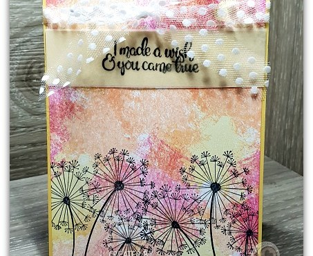 Arty Dandelion Wishes by Leonie Schroder Independent Stampin' Up! Demonstrator Australia