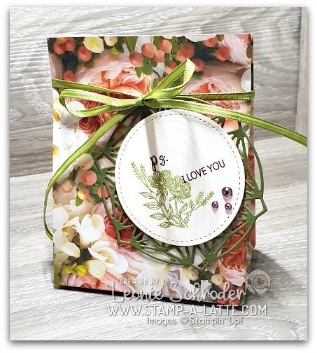 Pretty Petal Promenade Gift Bag by Leonie Schroder Independent Stammpin' Up! Demonstrator Australia