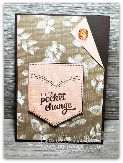 Pocket card for him by Leonie Schroder Independent Stampin' Up! Demonstrator Australia