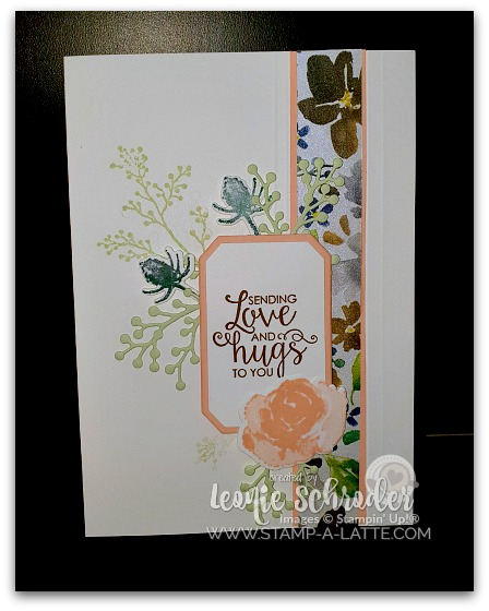 Frosted Hugs by Leonie Schroder Independent Stampin' Up! Demonstrator Australia