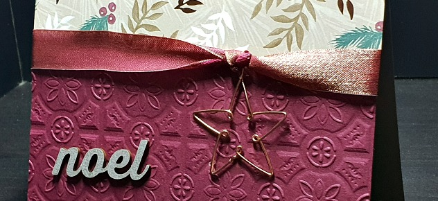 Joyous Noel with Star by Leonie Schroder Independent Stampin' Up! Demonstrator Australia