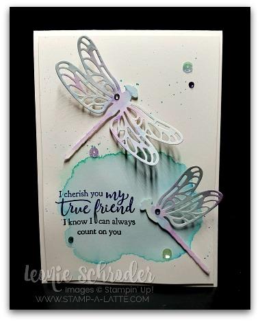 Dragonfly Friend by Leonie Schroder Independent Stampin' Up! Deonstrator Australia