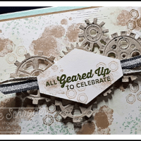 Happy new Year with Geared Up Garage by Leonie Schroder Independent Stampin' Up! Demonstrator Australia