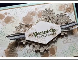 Happy new Year with Geared Up Garage by Leonie Schroder Independent Stampin' Up! Demonstrator Australia