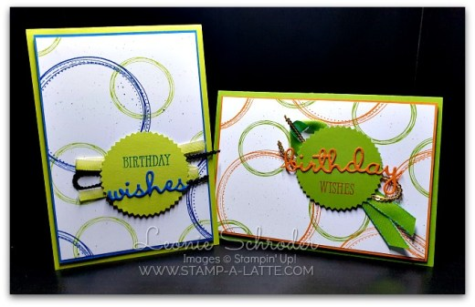Swirly Frames Birthday by Leonie Schroder Independent Stampin' Up! Demonstrator Australia