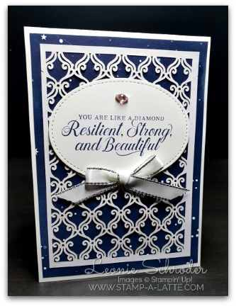 Resilient, Strong & Beautiful by Leonie Schroder Independent Stampin' Up! Demonstrator Australia