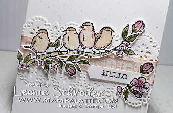 Hello Birds with Free as a Bird for Freshly Brewed Projects with the Latte Girls
