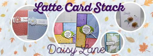 Latte Card Stack Class with Leonie Schroder Independent Stampin' Up! Demonstrator Australia