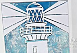 SU Home Decor Blog Hop - Framed Lighthouse by Leonie Schroder Independent Stampin' Up! Demonstrator Australia
