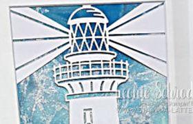 SU Home Decor Blog Hop - Framed Lighthouse by Leonie Schroder Independent Stampin' Up! Demonstrator Australia