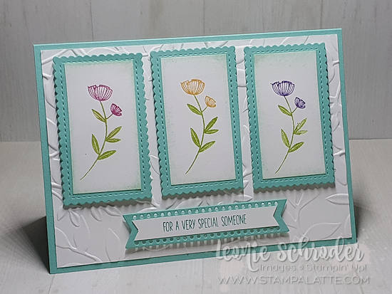 SPecial Flowers using Honey Bee Stamp Set by Leonie Schroder Independent Stampin' Up! Demonstrator Australia.