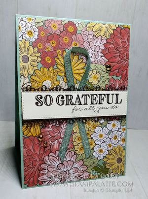 say Happy Mother's Day with the Ornate Garden Suite! Created by Leonie Schroder Independent Stampin Up! Demonstrator Australia
