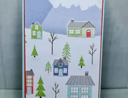 Slimline Houses using the Trimming the Town Paper Pack by Leonie Schroder Independent Stampin' Up! Demonstrator Australia