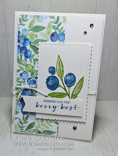 Berry Best using Berry Blessings Bundle by Leonie Schroder Independent Stampin' Up! Demonstrator Australia - get it free during Sale-a-bration.