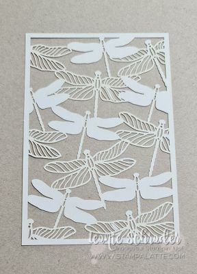 Dandy Dragonfly Laser Cut Paper