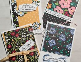 Flower & Field Cards with Many Messages Bundle by Leonie Schroder Independent Stampin Up Demonstrator Australia