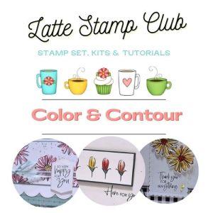 Latte Stamp CLub - Color & Contour