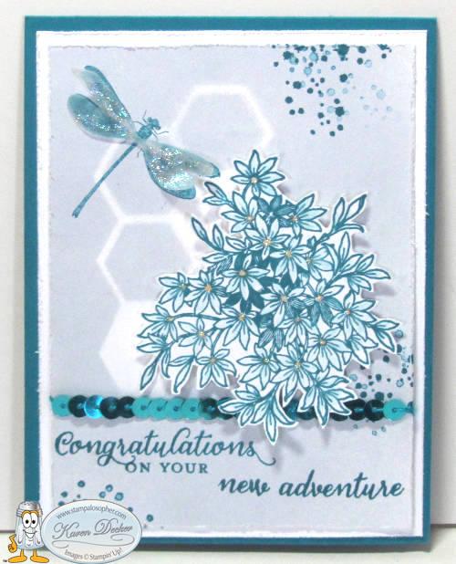 Dragonfly Congrats Card