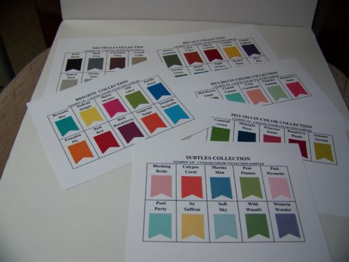 Color Sheets