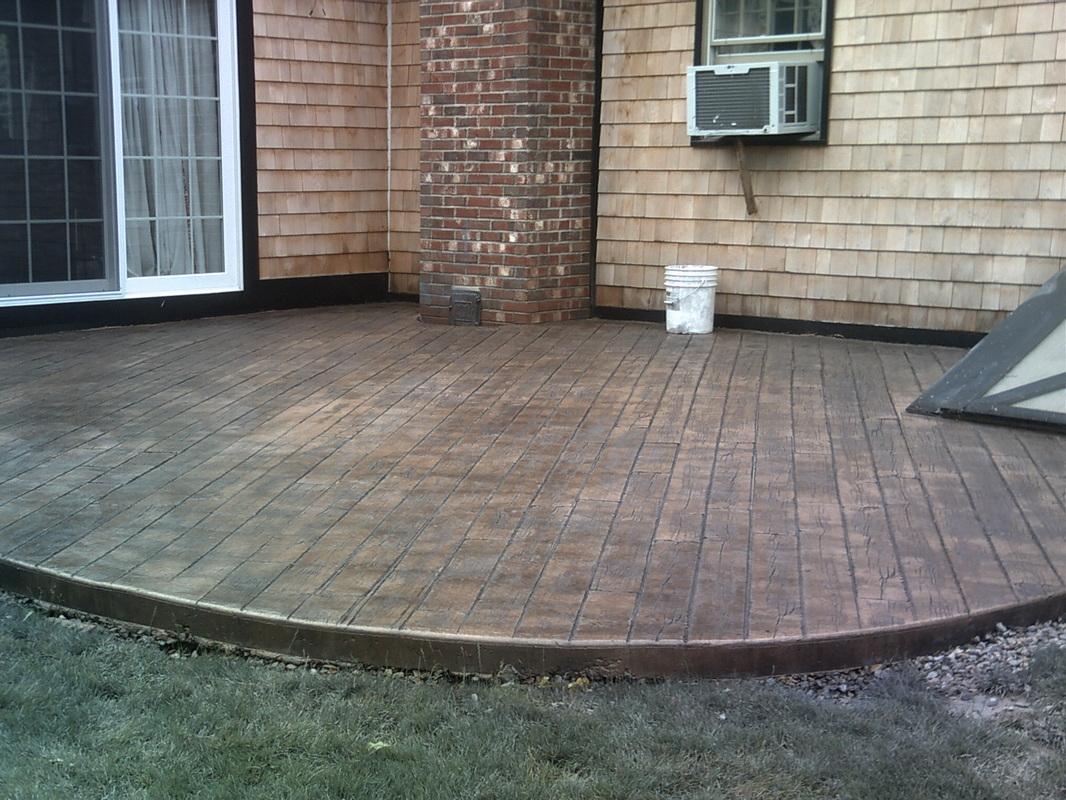 Stamped Concrete  Concrete Design