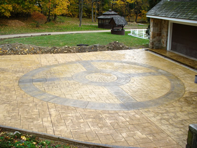 Fancy Stamped Concrete Designs