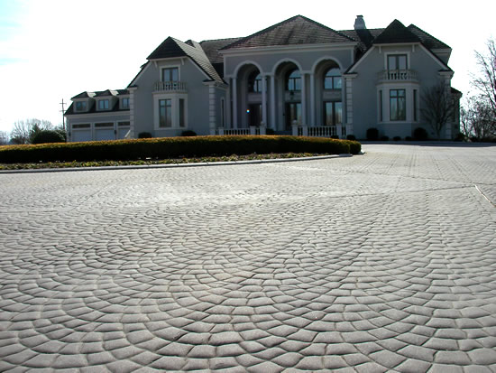 Stamped Concrete Driveway Photo Gallery