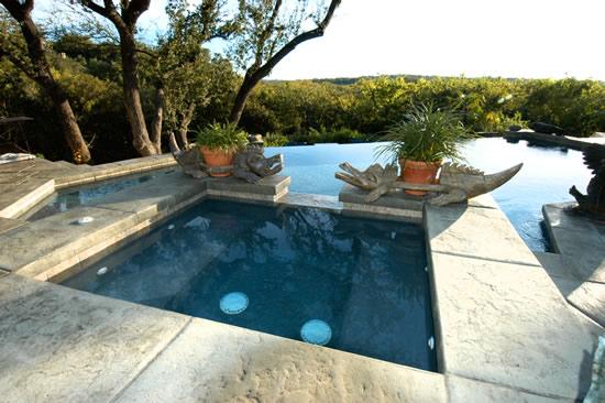 Photos of Stamped Concrete Pool Decks