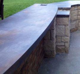 concrete casting countertop products mix