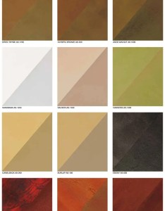 Brickform artesian color chart   also water based stain concrete stamped supplies rh stampedconcretesupplies